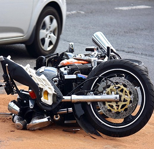 motorcycle accident scene in tampa